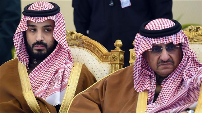 Crown Prince Mohammad Bin Nayef and Deputy Crown Prince Mohammed bin Salman