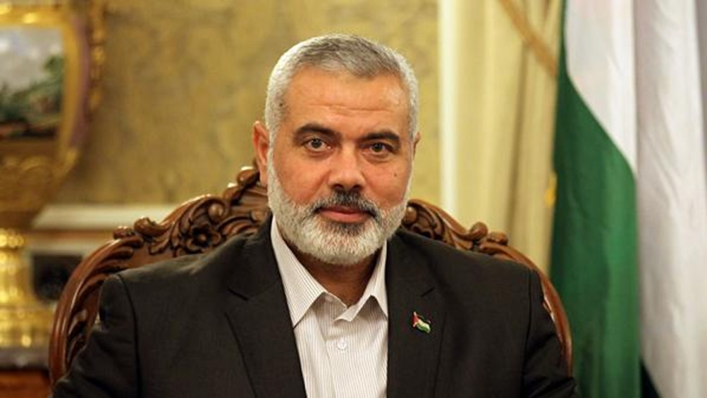Head of the politburo of Hamas movement Ismail Haniyeh