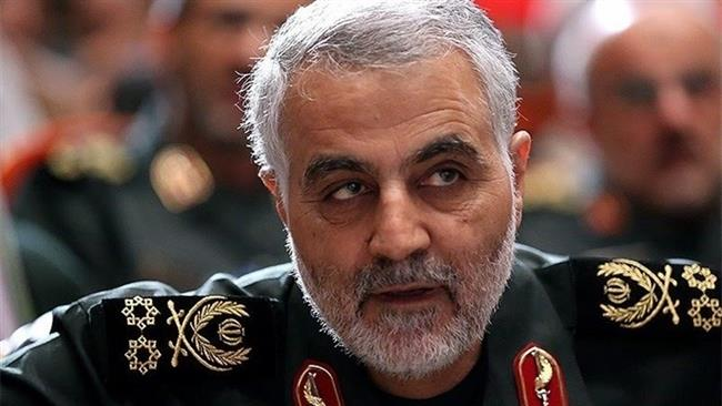 Commander of Iranian Revolutionary Guard Corps' (IRGC) elite Quds force, Major General Qassem Suleimani