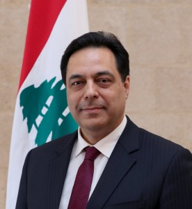 Lebanese Prime Minister Hassan Diab
