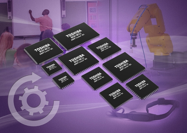 Toshiba Launches ARM® Cortex®-M3-Based Microcontrollers with Latest 65nm Flash Embedded Logic Process