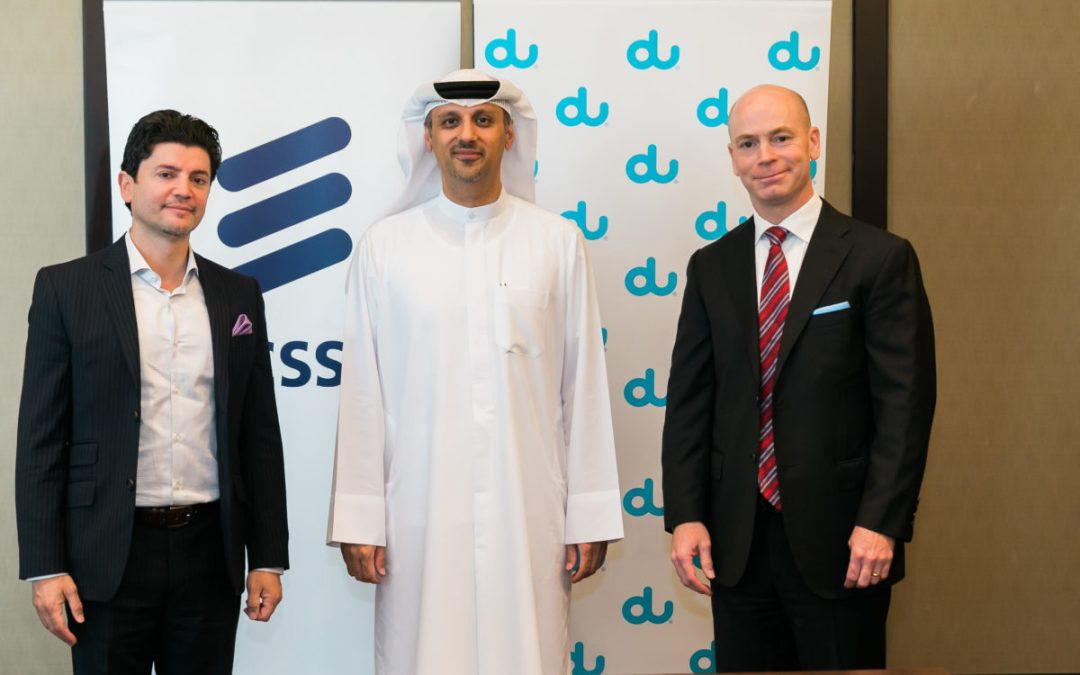 Ericsson enters into long-term partnership to manage and operate du's IT infrastructure