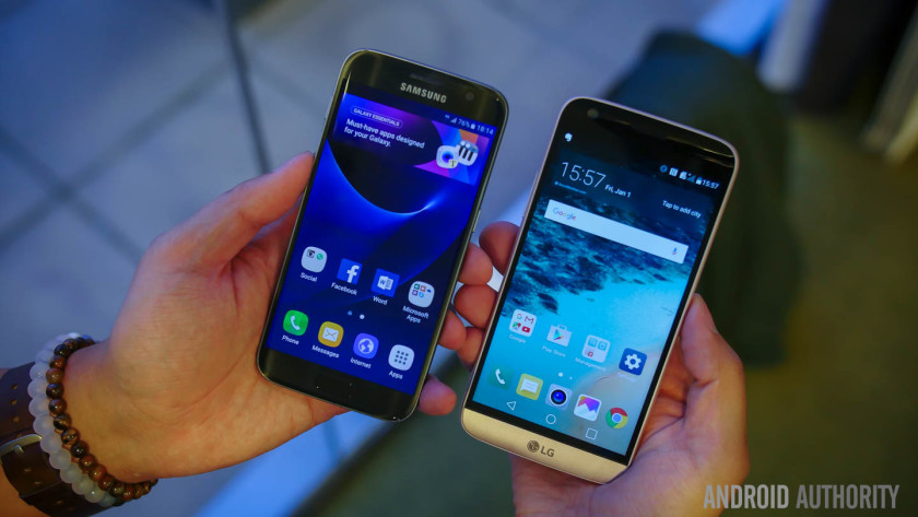 Samsung Galaxy S7 vs LG G5: Specs, Hardware & Features Compared