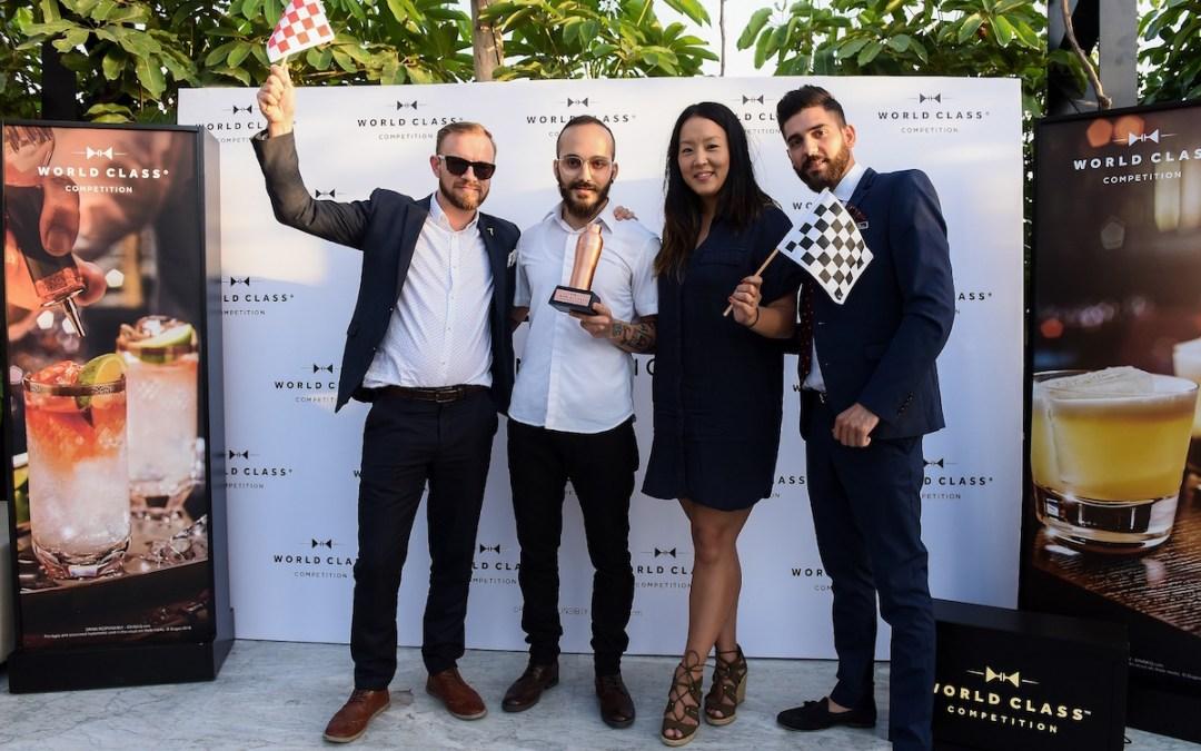 Diageo Names Kevin Haddad Lebanon's Best Mixologist