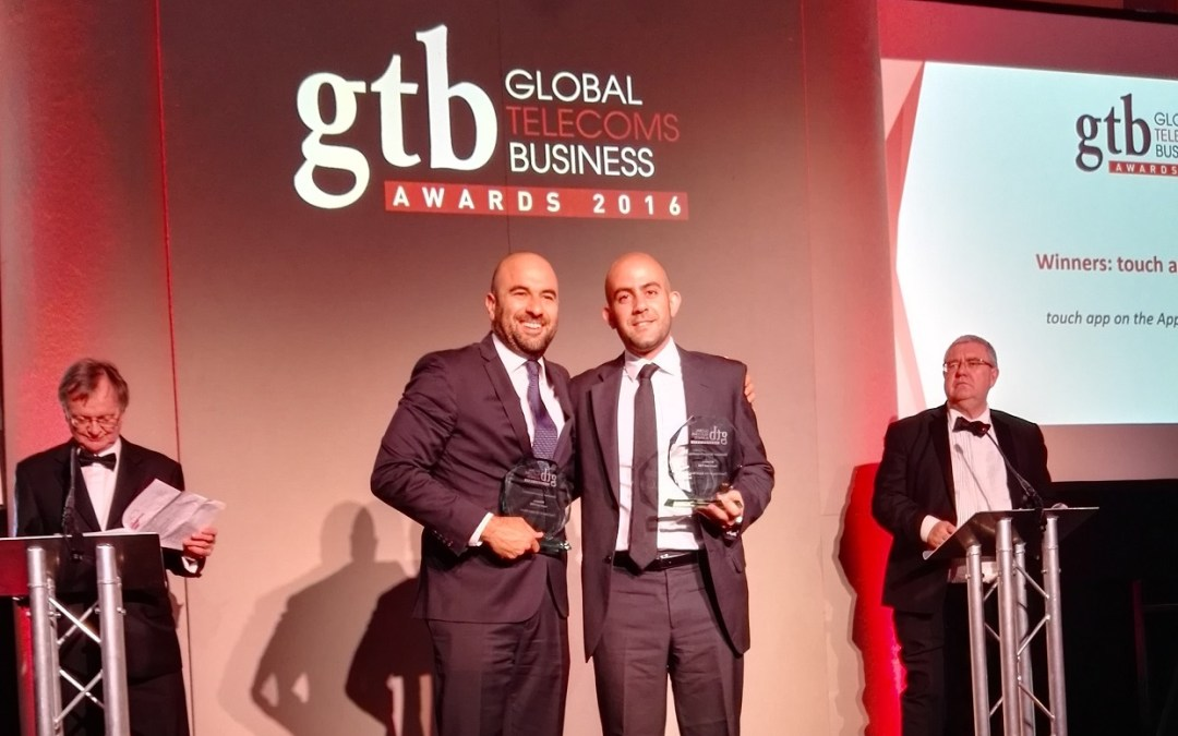 touch clinches two prizes at the Global Telecoms Business Innovation Awards in London