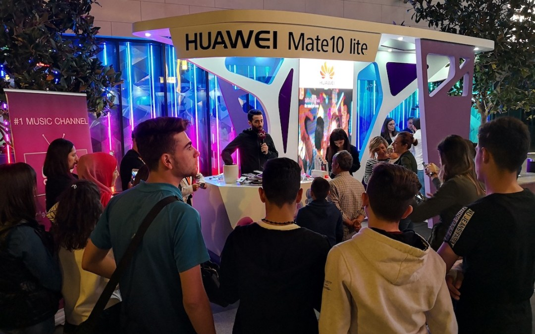 Celebrities and Moms gather to Experience The Huawei Mate 10 lite