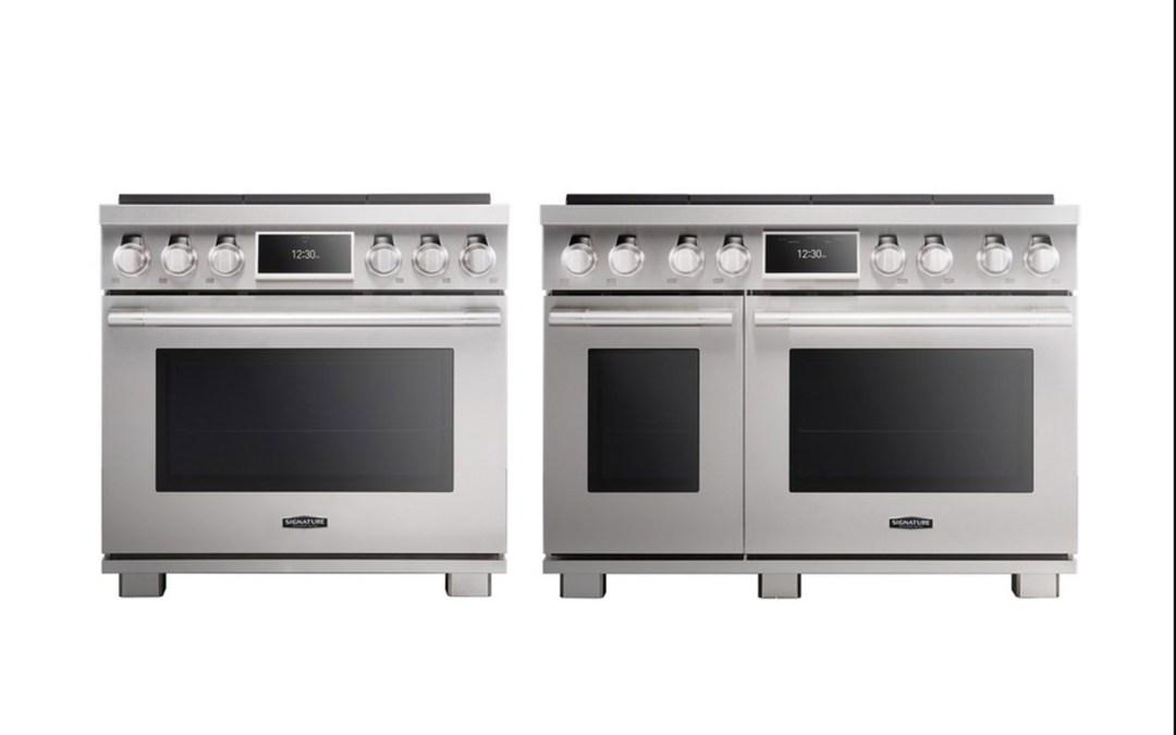 Signature Kitchen Suite Pro Range Oven and LG CineBeam Laser 4K ...
