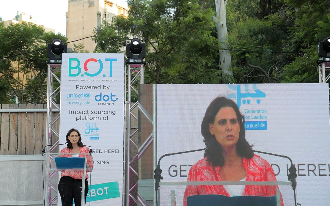 UNICEF Lebanon and Digital Opportunity Trust Launch BOT