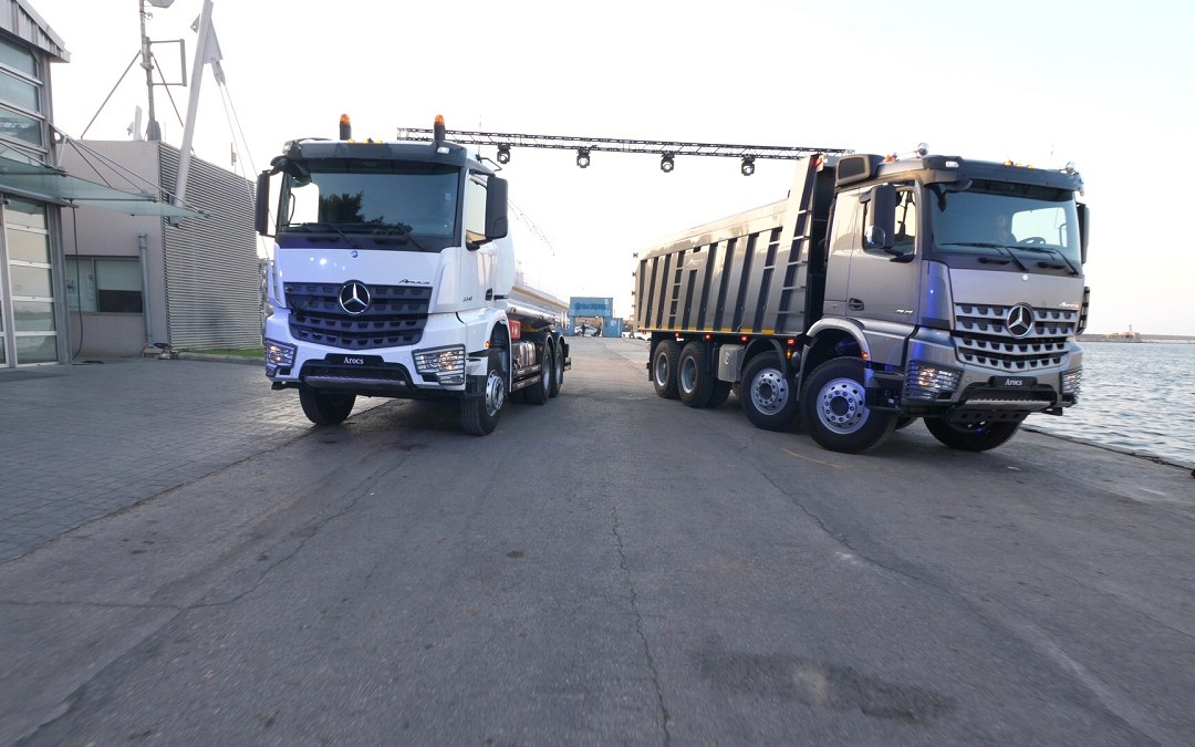 T. Gargour & Fils s.a.l. launches the all-new Mercedes-Benz Arocs  heavy-duty truck in Lebanon at Beirut port