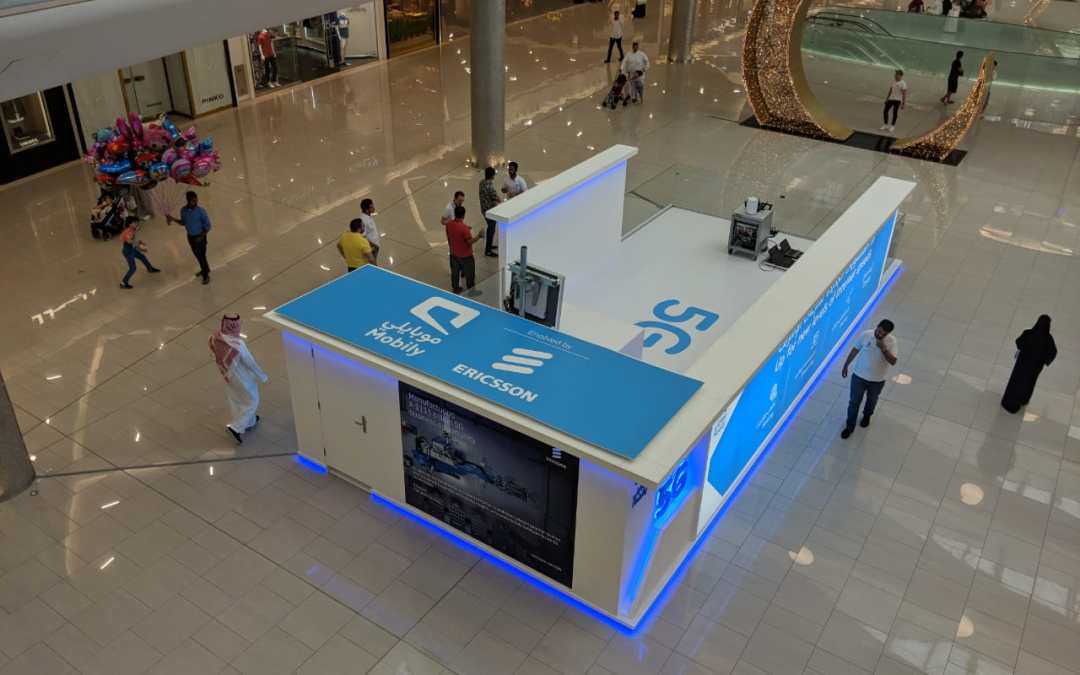 Ericsson and Mobily exhibit 5G at The Arabia Mall in Jeddah