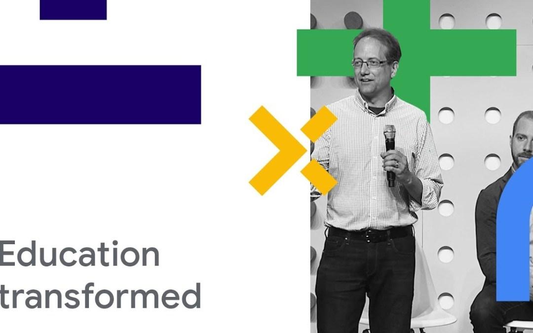 Google Cloud Next '18: Analytics & Machine Learning Will Transform Education
