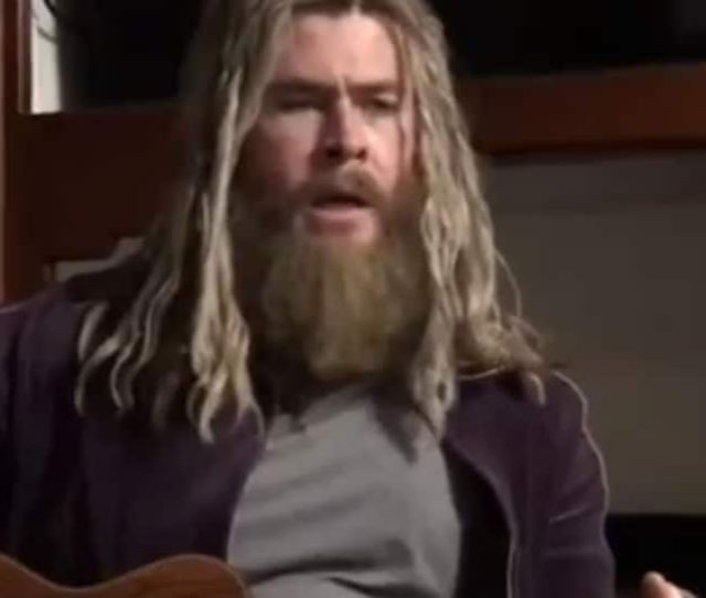 Chris Hemsworth As Fat Depressed Thor Sings The Saddest Song In The World