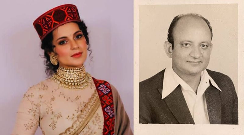 Kangana Ranaut mourns demise of her grandfather, pens a heart-warming note!