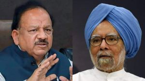 History would be kinder to you if Congress took your advice: Harsh Vardhan's reply to former Prime Minister Manmohan Singh's letter |  India News