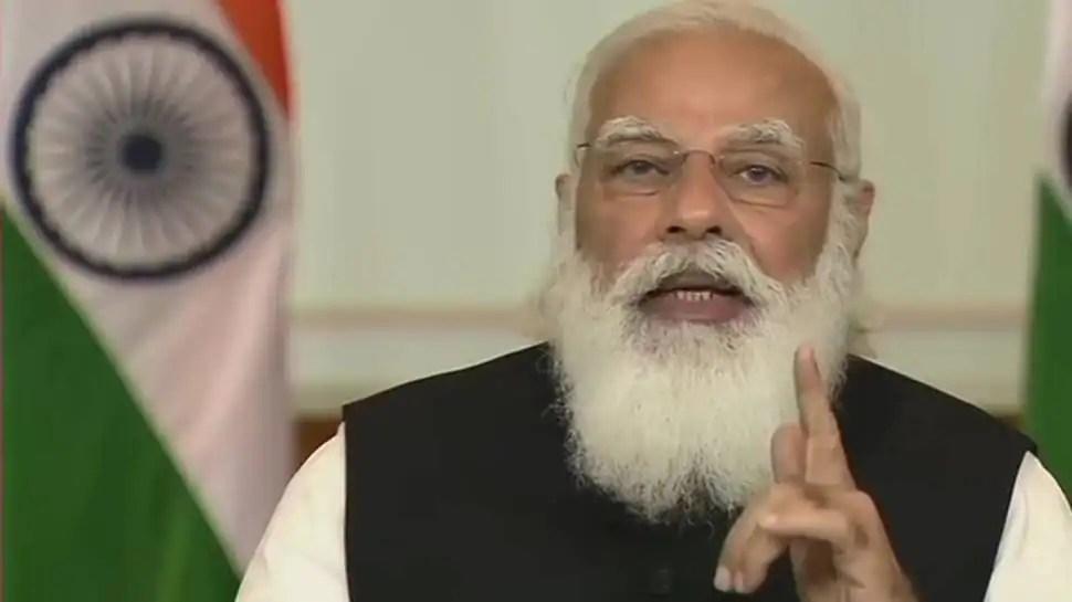प्रधानमंत्री नरेंद्र मोदी ने 8.45 बजे COVID-19 स्थिति पर राष्ट्र को संबोधित किया