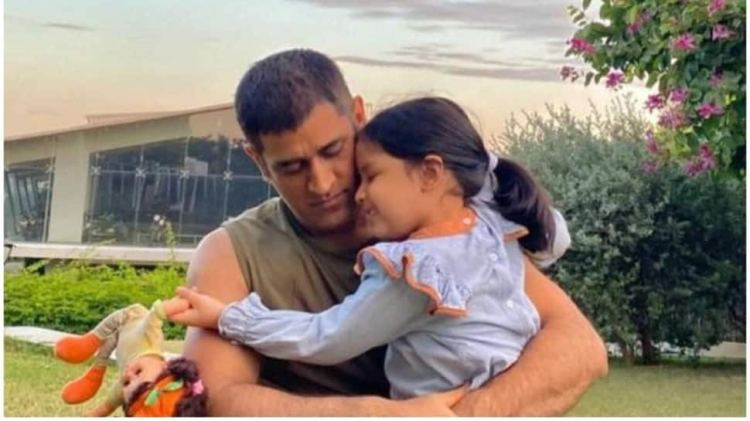 IPL 2021: MS Dhoni's adorable pictures with daughter Ziva go viral, see pics