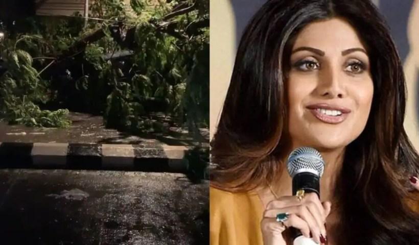 Shilpa Shetty, Varun Dhawan, Malaika Arora share shocking visuals of Cyclone Tauktae, urge fans to stay safe