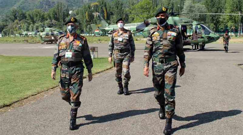 Army chief MM Naravane on 2-day visit to Jammu and Kashmir, reviews security in valley