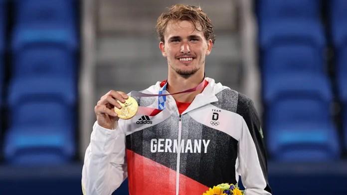 956337 zverev 970 अलेक्जेंडर ज्वेरेव ओलंपिक एकल स्वर्ण पदक जीतने वाले पहले जर्मन व्यक्ति बने | टेनिस समाचार