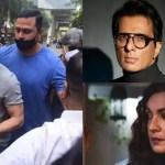 Sonu Sood, Pooja Bhatt SLAM paps for hounding Shah Rukh Khan during his visit to son Aryan Khan in jail 💥👩👩💥