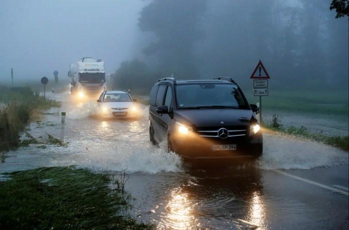 जर्मन बाढ़
