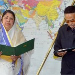 Ershad takes oath at JS
