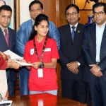 PM awards U-18 women soccer team