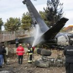 Cargo plane crashes in Iran, killing 15: army