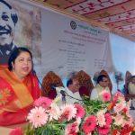 Shirin for raising children in line with Bangabandhu's ideology