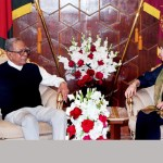 President seeks strong UK role for Rohingya repatriation