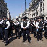 London climate protest arrests top 700