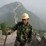 Mules, tools and old bricks: Rebuilding China's Great Wall