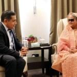 Bangladesh wants to resolve Rohingya crisis thru' discussion: PM