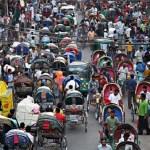 Rickshaw ban on three major Dhaka roads from July 7
