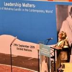 Gandhi's humanitarian ideals will establish equitable world, hopes PM