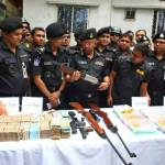 RAB seizes TK 5.5 crore, 730 tolas gold, 6 firearms in old city