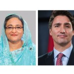 PM greets Trudeau on his reinstallation as Canadian premier