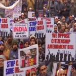Large number of protesters detained; mobile, internet services suspended to curb protests in India