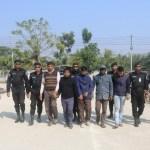Five members of 'Allahr Dal' held in Khulna