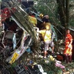 Bus crash kills 19, injures dozens on Myanmar-Thai border