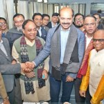 Fakhrul, Atiqul exchange greetings at JPC