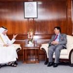 FM seeks Qatar's continued support in Rohingya repatriation