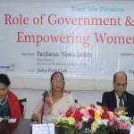 Everyone has a role in women's empowerment: Fazilatunnessa