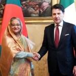 PM seeks EU support for Rohingya reparation