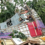 Tornado, storm lash Bhola, 150 houses destroyed