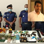Faridpur City AL president arrested, 1,200 sacks of rice, arms, drug, cash seized