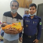 Newborn rescued in Naogaon