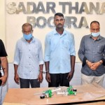 Oxygen cylinder meter theft at Bogura hospital: Three held