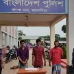 3 drug traders held in Mymensingh