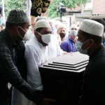Ex-Home Minister Sahara Khatun laid to rest at mother's grave